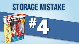 Austin Mini Storage: Choosing The Wrong Sized Austin Ministorage Unit