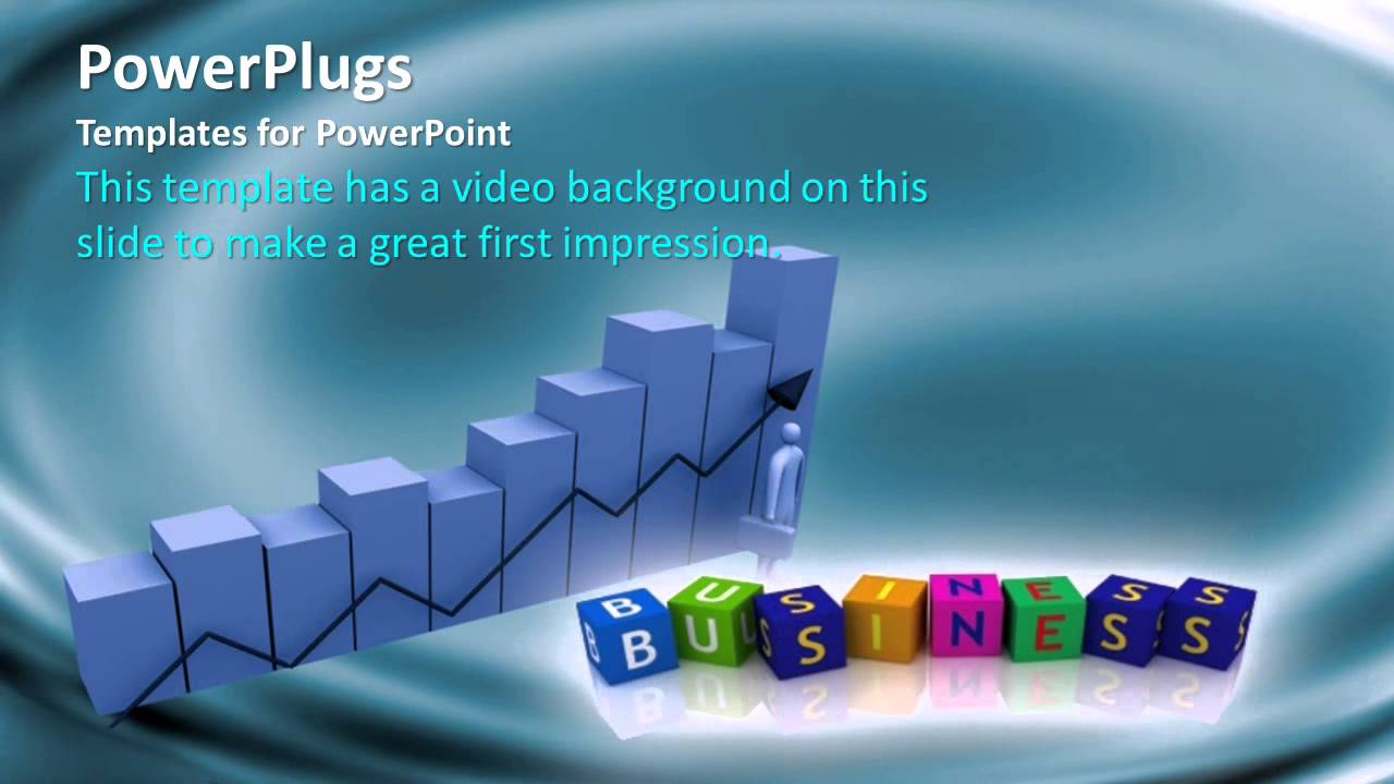 businessbars_co_05_ws crystalgraphics powerpoint video, Powerpoint templates