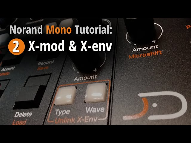 Norand Mono Tutorial 2: X-mod and X-env