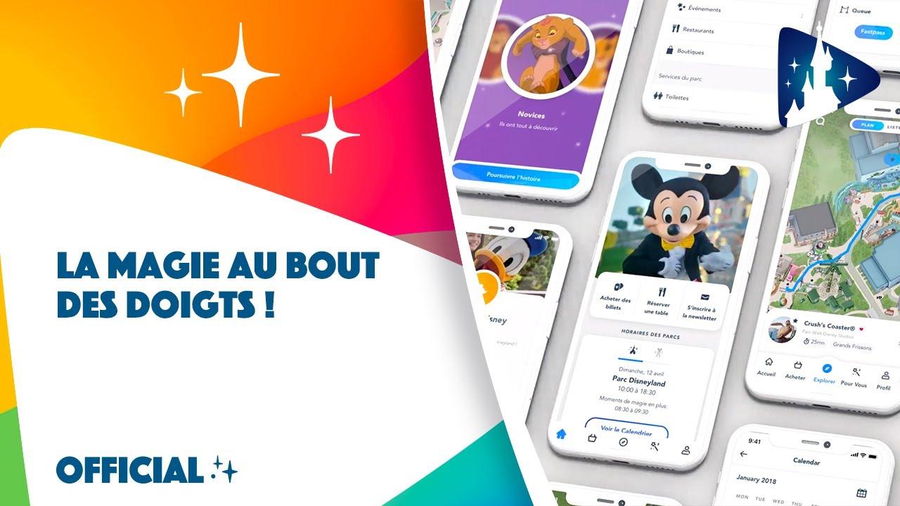 Faites de votre mobile une baguette magique avec l'application Disneyland Paris ! 📲