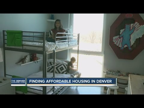 Finding affordable housing in Denver