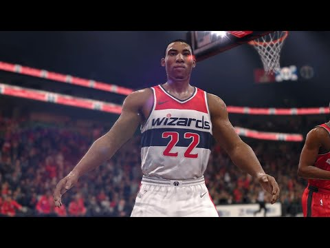 NBA LIVE 18 - Toronto Raptors vs Washington Wizards - 2nd Half - PS4 PRO 1080p - HD