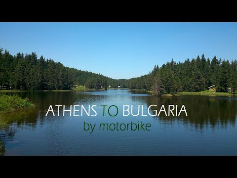 Athens to Bulgaria by motorbike