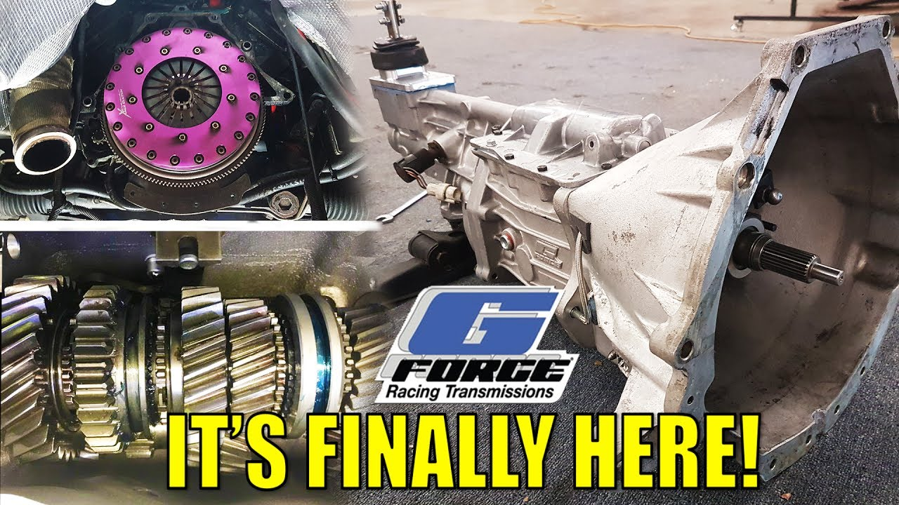 MY FULLY BUILT G-FORCE T5 TRANSMISSION - INSTALL & FIRST DRIVE