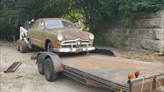 Road Trip with Greg pick up another 49 shoebox Ford