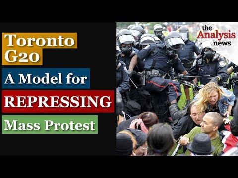 Toronto G20 - A Model for Repressing Mass Protest