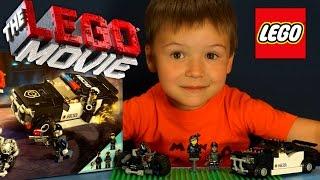 Лего Муві огляд російською. Огляд Лего Фільм Конструктор. Lego Movie 70819 Bad Cop Car Chase.