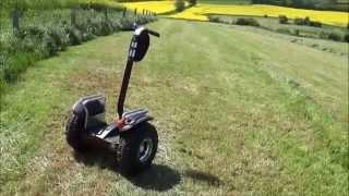 Windrover V3+ tout terrain premier test concurrent Segway X2
