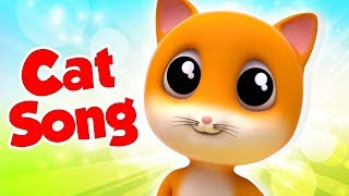 Cat Song | Nursery Rhymes & Kids Songs For Children | Junior Squad