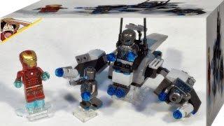 레고 76029 아이언맨 대 울트론 마블 슈퍼히어로 조립 리뷰 Lego Marvel super heroes Iron Man vs. Ultron
