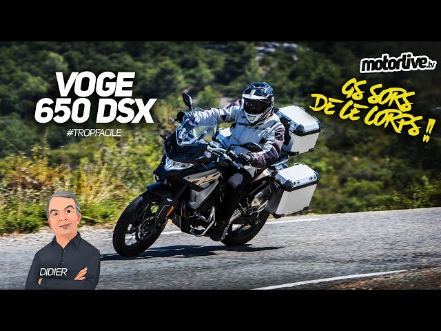 VOGE 650 DSX   TEST MOTORLIVE