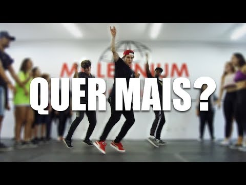 QUER MAIS ? - MC Pocahontas MC Mirella I Coreógrafo Tiago Montalti