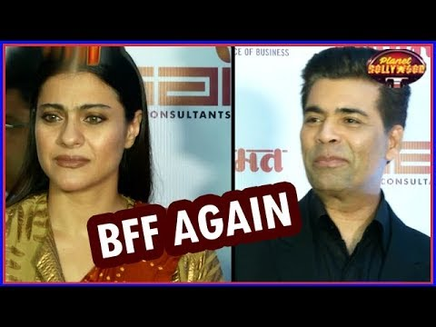 Kajol – Karan Johar Bond Like Two Friends | Bollywood News