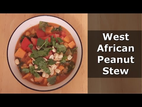 West African Peanut Stew (Vegan) RECIPE