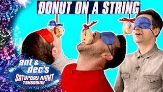 Doughnut on a String Challenge | Ant and Dec v SORTEDfood