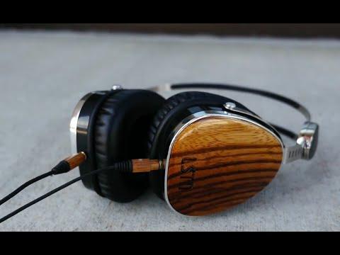 Awkward Little Things: LSTN Troubadour Wooden Headphones Review