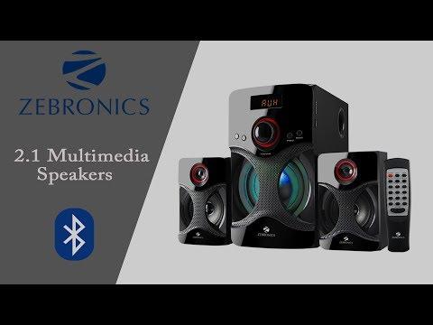 Zebronics Bluetooth Multimedia Speakers Review (Budget Speakers Under 35$)