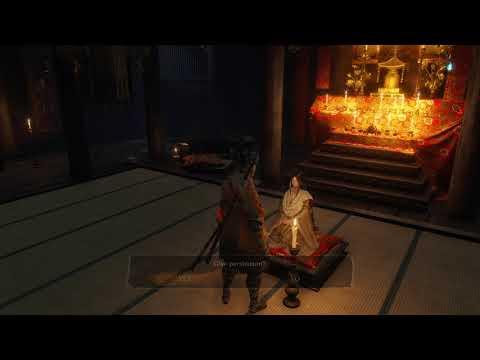 Sekiro - Taro Persimmon & Divine Child Dialog With Both Persimmon