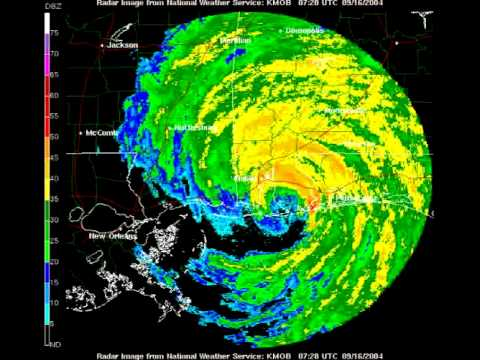 Hurricane Ivan Animated Radar (2004)