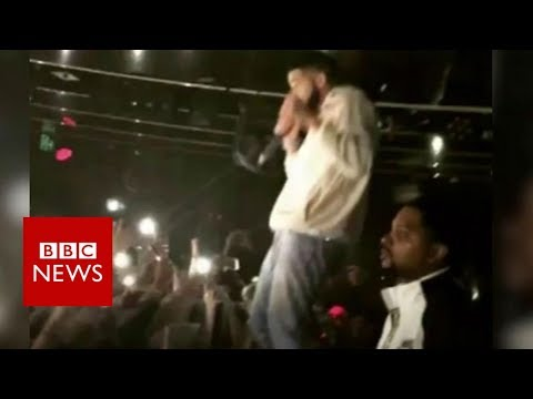 Drake stops his set after seeing person being groped  BBC News