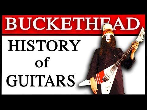 The History of Buckethead's Guitars