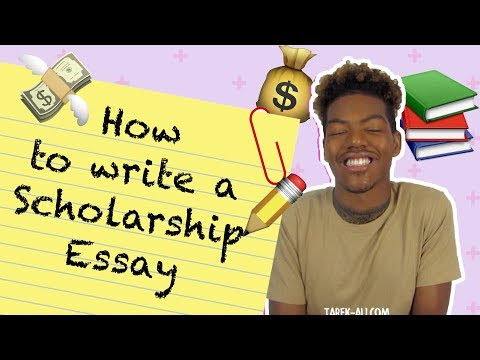How to Write a Scholarship Essay! | in 7 tips
