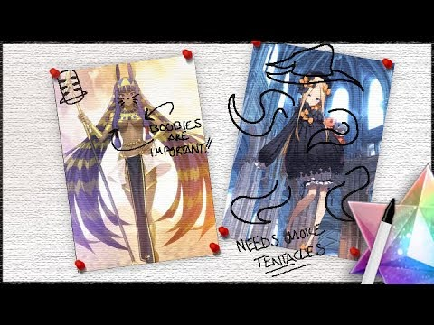 Let's Chill & Draw! — Nitocris, Abigail Williams, & Others from Fate/Grand Order!