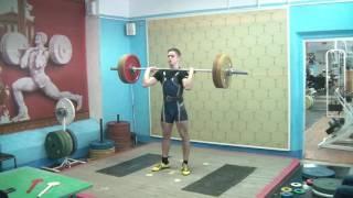Рахматуллин Альберт, 17 лет, св 71 Толчок 100, 105 и 110 кг