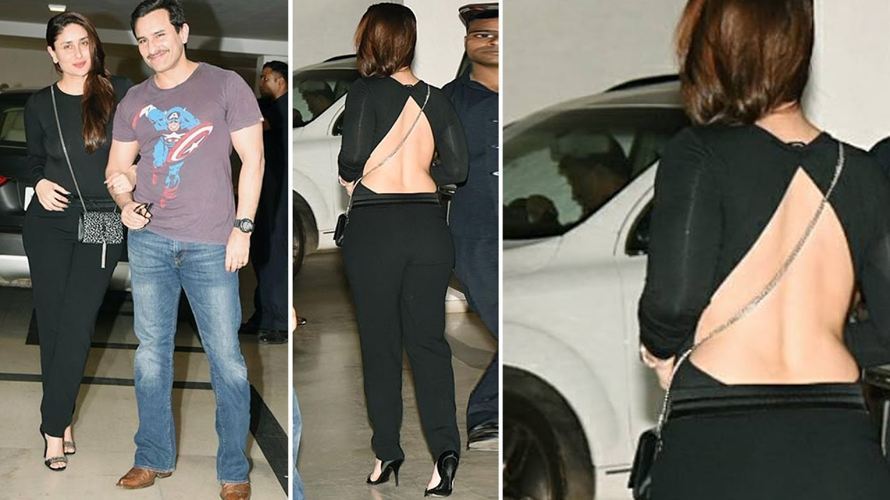 Kareena Kapoor Flaunts Her Exy Back In A Hot Outfit - Youtube-8478