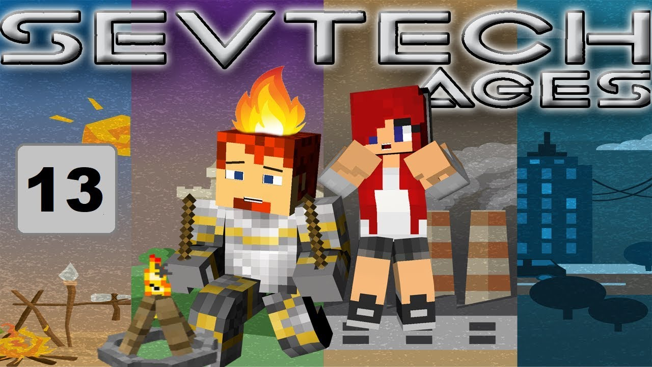 Hunting for Parrots! - SevTech Ages with Heather, Ep 13!
