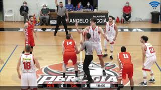 Highlights Perugia Basket vs. Basket Tolentino - Coppa Italia Serie C Silver 2021-2022