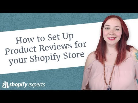 How to Set Up Product Reviews for your Shopify Store