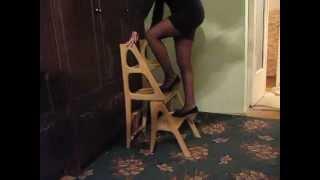 видео Мини стремянка или маленькая лестница-трансформер