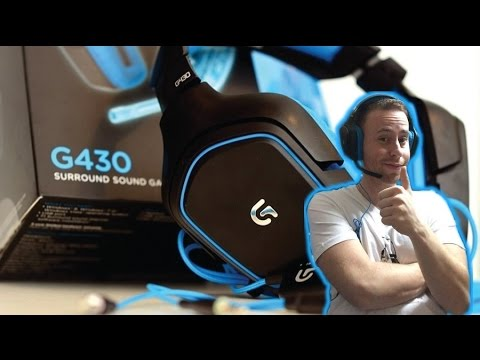 LE MIE NUOVE CUFFIE DA GAMING! [Headset Logitech G430 7.1] - Unboxing / Recensione ITA