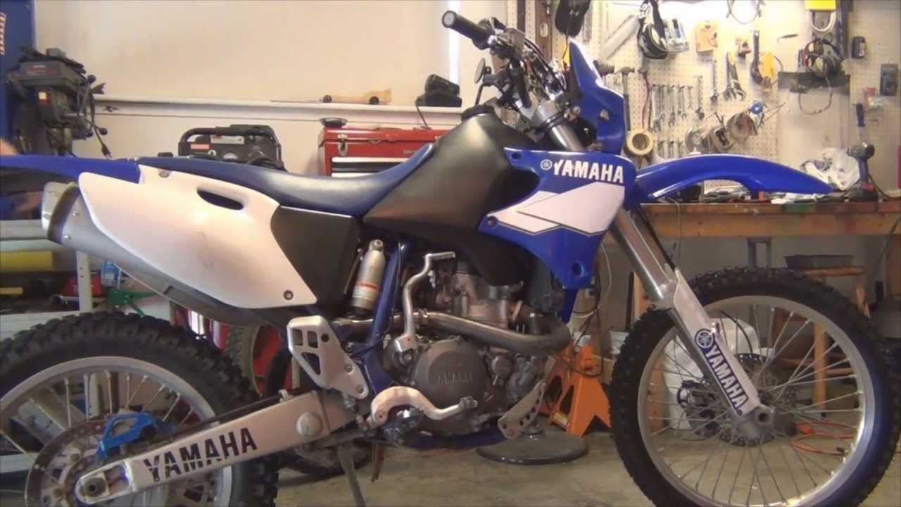 yamaha wr400f start up youtube. Black Bedroom Furniture Sets. Home Design Ideas