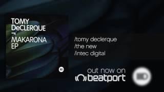Tomy DeClerque - Makarona EP - Intec Digital
