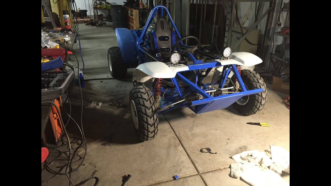 Home Made ATV Dune Buggy Build. - YouTube