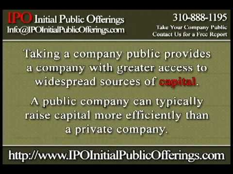 Initial Public Offerings website