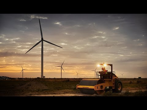 Volvo CE – Building Tomorrow – Kouga Wind Farm, South Africa