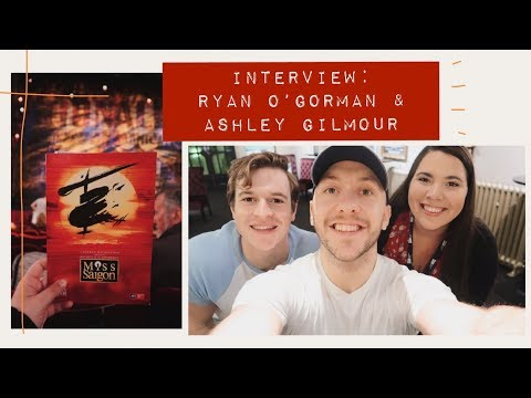 In Conversation With... Ryan O'Gorman and Ashley Gilmour | Miss Saigon Interview