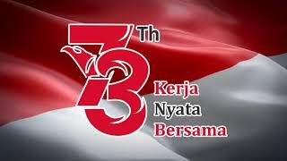 Background Bendera Merah Putih Berkibar HUT RI KE 73 (HD)
