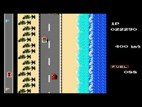 Road Fighter NES/Famicon TAS (4:49.76)