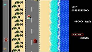 Road Fighter NES/Famicon TAS (4:49.76)