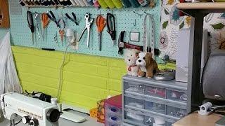 Sewing Studio Tour