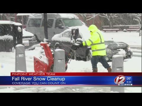 Aftermath of spring snowstorm delays several Fall River schools