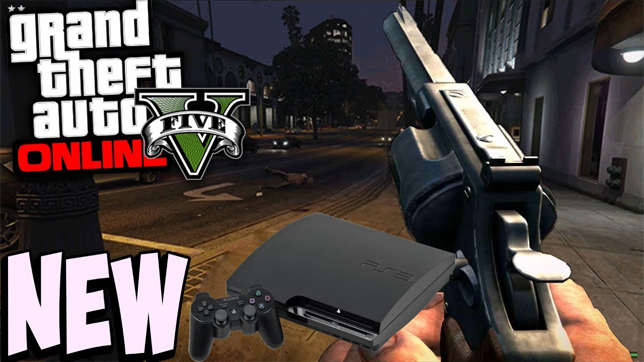 gta 5 online ps3 first person
