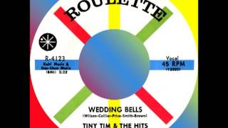 WEDDING BELLS, Tiny Tim & The Hits, Roulette #4123  1958