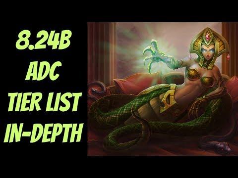 8.24B ADC Tier List In-Depth -- Diamond Analysis -- League of Legends thumbnail