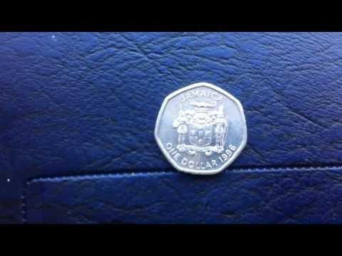 Coins : Jamaican One Dollar 1996 Coin