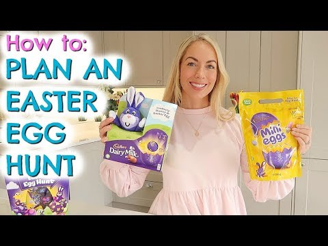 AD | HOW TO PLAN AN EASTER EGG HUNT